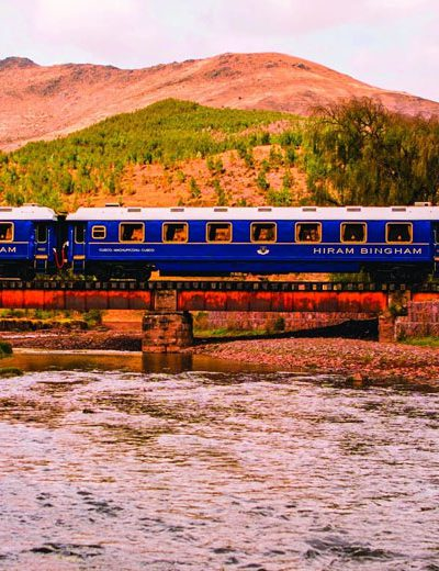 Hiram Bingham Luxury Train to Machupicchu